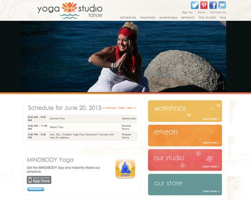 Yoga Studio Tahoe