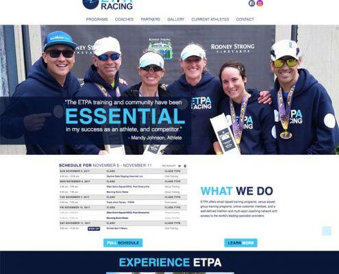 triathlon training coaching website