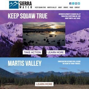 sierra watch website