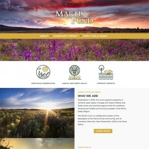 non-profit land conservation website